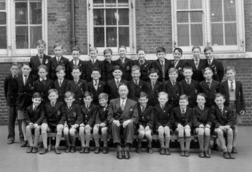 Bloomfield Rd School c.1955 showing Brian Rakey.