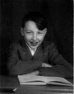 Colin Weightman at 10 - Conway School photo