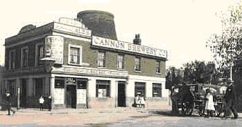 Old mill pub, Plumstead Common. late                           Victorian era. Photo: Clare Crawford.