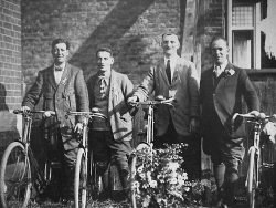 Plumstead Working Men's Club - Cysle section. 3rd from left is James Edward Boon