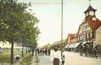 Plumstead Common Road, c.1905. Photo:                           Greenwich Heritage Centre
