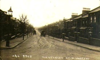 Postcard of Wrottsley Road, Plumstead                             c.1910