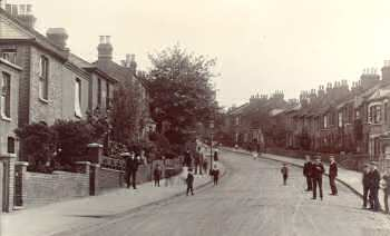 Purrett Road c.1900. Photo: Greenwich                           Heritage Centre