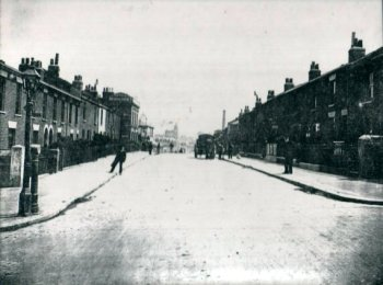 Raglan Road,                             Plumstead c.1900. Photo: Clare Crawford.