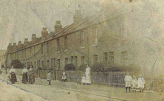 Sutcliffe Road in late Victorian times.                           Photo:John Miles