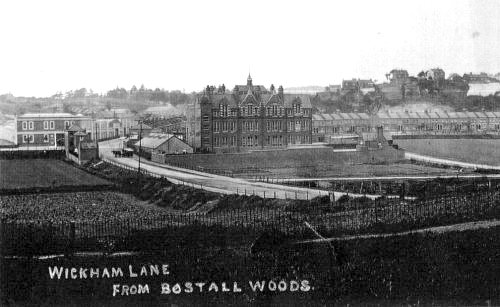 Wickham Lane (View from Bostall Woods                             in 1911). Photo: Alan Gibbs