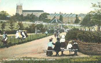 Bandstand,                             Plumstead Common, c.1905. Photo: Greenwich                             Heritage Centre